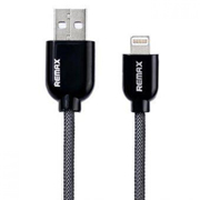 REMAX Super Series Cable-LIGHTNING -1M-BLACK