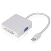Thunderbolt mini dp to DVI VGA HDMI