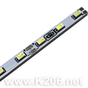 Лента 60WW-3014-60LED-3.8x2.3x500mm